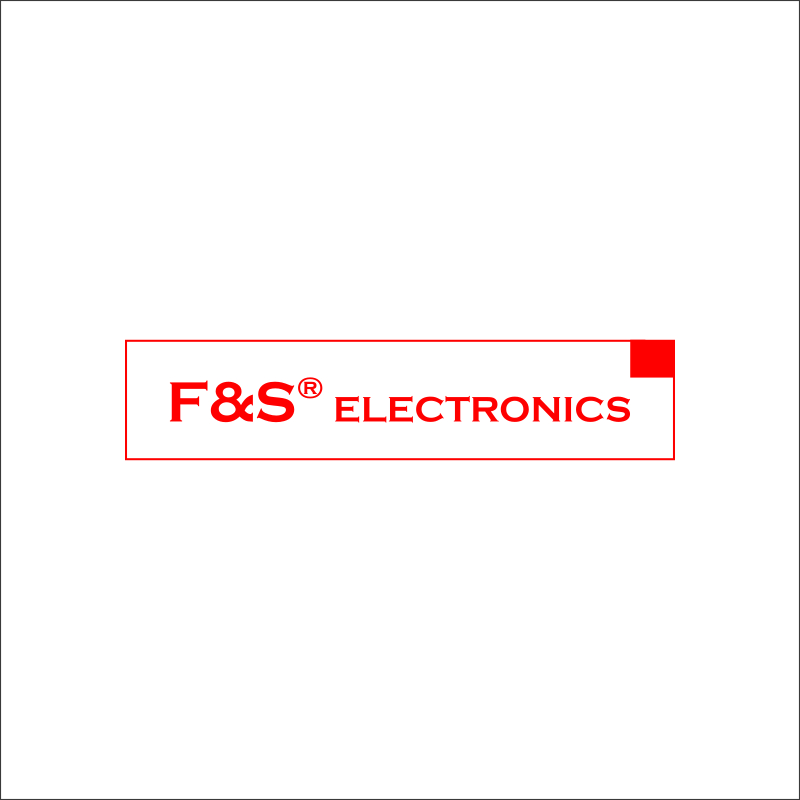 Tlačidlo značky F&S Electronics